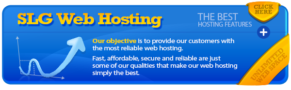 SLG Web Hosting Features